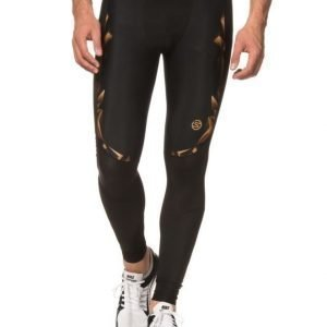 Skins A400 Mens Gold Long Tights