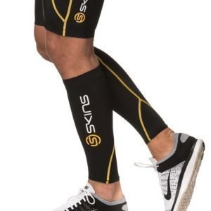 Skins Calftights MX Unisex Black/Yellow