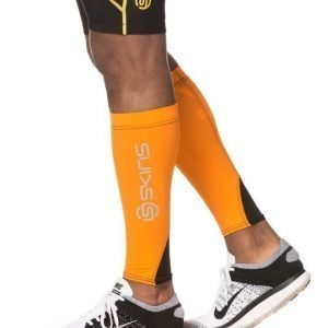 Skins Calftights MX Unisex Orange/Black