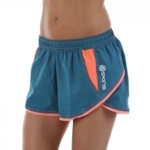 Skins Plus Axis Womens Shorts Treenishortsit Sininen