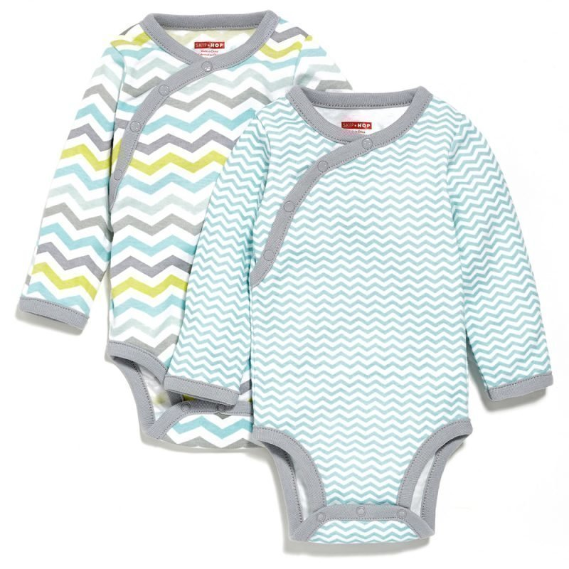 Skip Hop Kietaisubody 2-pack Starry Chevron