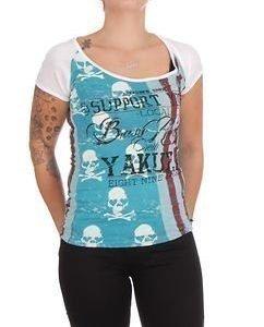 Skulls&Stripes Blue
