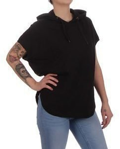 Sleeveless Ladies Hoody Black