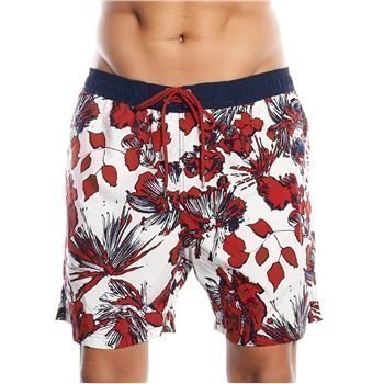Sloggi Flower Swim Shorts Red