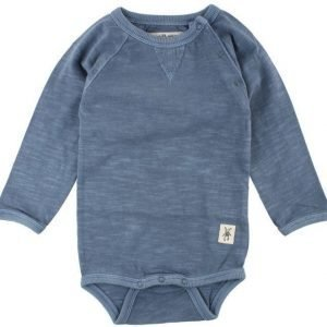 Small rags Body Danny LS Body China Blue Melange
