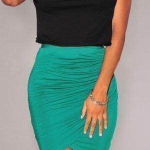 Smaragdi wrap-minihame