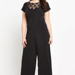 So Fabulous Jumpsuit Musta