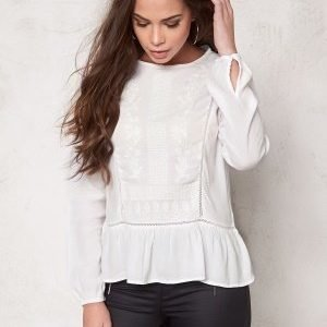 Soaked In Luxury Eleanor Blouse Lily White