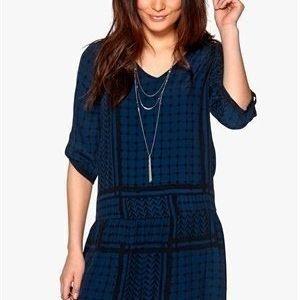 Soaked In Luxury Evy dress Blue/Black