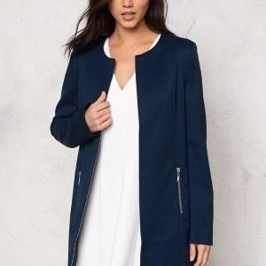 Soaked In Luxury Katie Coat Navy