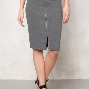 Soaked In Luxury Laureen Skirt Medium Grey Melange