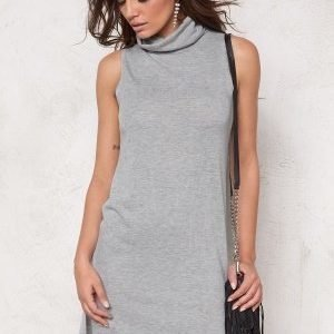 Soaked In Luxury Nixie Dress Light Grey Melange