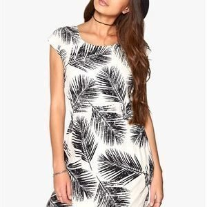 Soaked In Luxury Palm dress Black/Offwhite