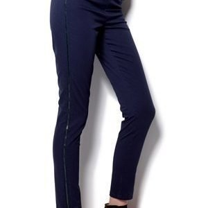 Soaked In Luxury Plato pant Blue Graphite