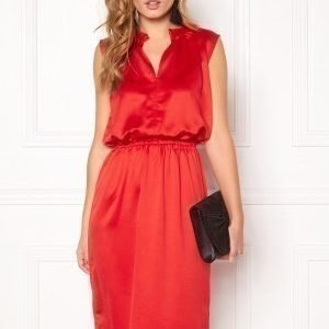 Soaked In Luxury Portia Dress High Risk Red