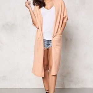 Soaked In Luxury Salvia Cardigan Peach