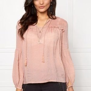 Soaked In Luxury Sherry Blouse Powder