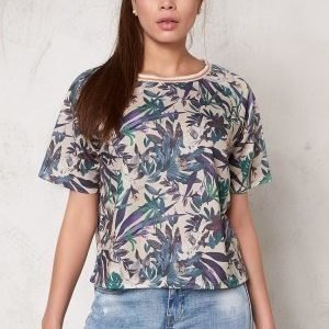 Soaked In Luxury Tassa T-Shirt Tropical Print