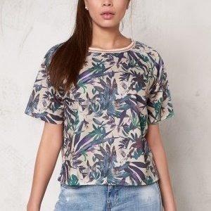 Soaked In Luxury Tassa T-Shirt Tropical Print