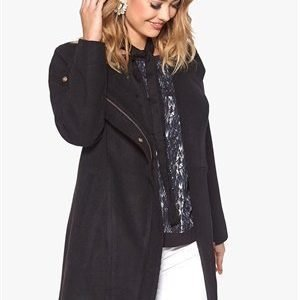 Soaked In Luxury Venice Coat Black