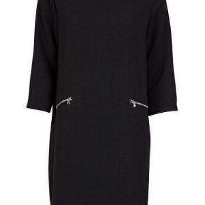 Soaked in Luxury Manzo Dress Black