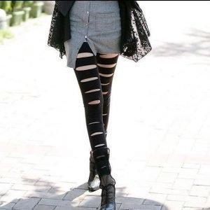 Soft Black hole leggings