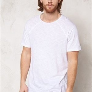 Solid Adam T-shirt 0001 White