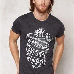 Solid Araby T-shirt 8288 Dark Grey