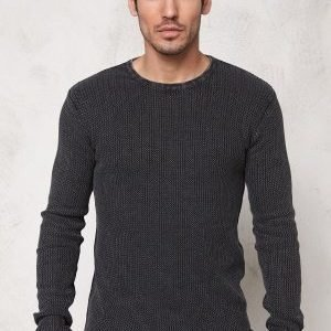 Solid Arlen Knit 9000 Black