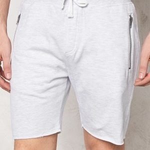 Solid Bard Shorts 8010 Lig Grey