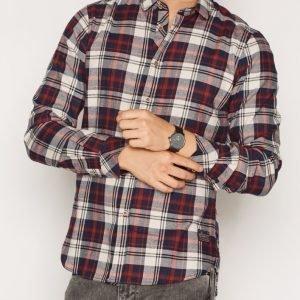 Solid Deckert Shirt Kauluspaita Angora