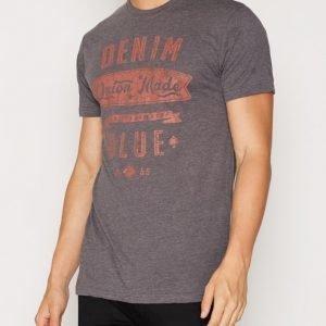 Solid Denon T-shirt T-paita Ebony