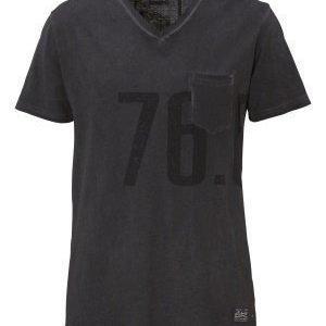 Solid Derring T-shirt 2958 Jet Black