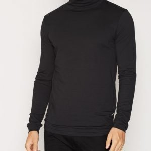 Solid Doyle T-shirt Pusero Black
