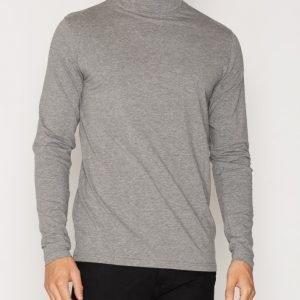 Solid Doyle T-shirt Pusero Grey Melange