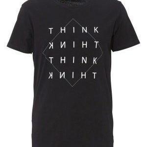 Solid Drew T-Shirt 9000 Black