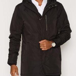 Solid Dusty Jacket Takki Black