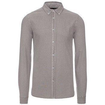 Solid Edem kauluspaita pitkähihainen paitapusero