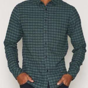 Solid Edgars Shirt Kauluspaita Green