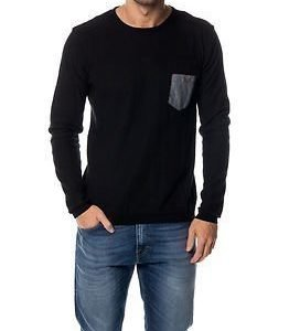 !Solid Edmondo Knit Black