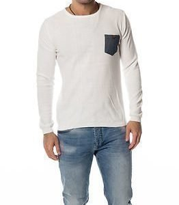 !Solid Edmondo Knit White
