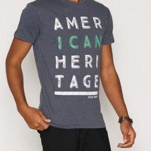 Solid Eliezer T-shirt T-paita Navy