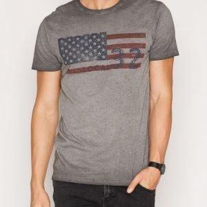 Solid Elmir T-shirt T-paita Grey Melange