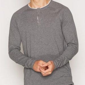 Solid Elton T-shirt Pusero Grey Melange