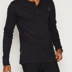 Solid Ernes T-shirt Pusero Jet Black