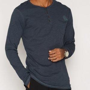 Solid Ernes T-shirt Pusero Navy