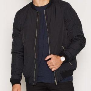 Solid Erol Jacket Takki Black