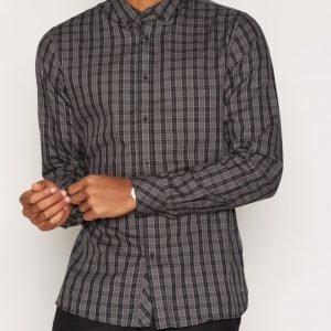 Solid Ershad Shirt Kauluspaita Black