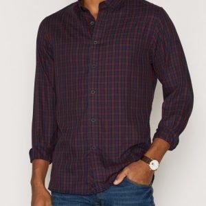 Solid Ershad Shirt Kauluspaita Insignia Blue