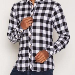 Solid Esref Shirt Kauluspaita Black